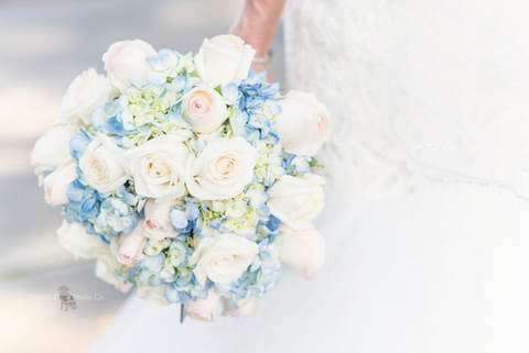 Cleveland Wedding Photo of a bride's bouquet